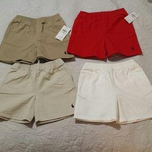 NWT Bundle of Boys 24 Mos Ralph Lauren Shorts